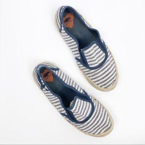 Rocket Dog Slip On Espadrille Sneaker Shoe sz 7.5
